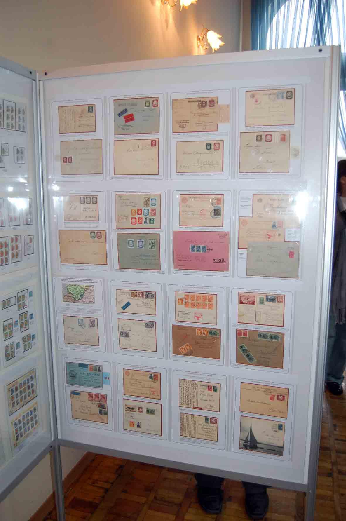 Выставка коллекций на слете филателистов в Днепропетровске март 2016