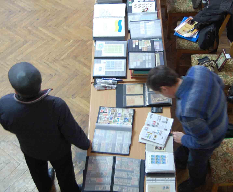 Слет филателистов в Днепропетровске март 2016