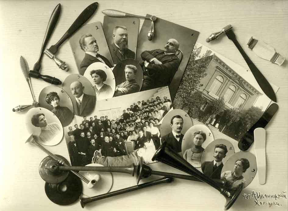 Выпуск врачей Харьковского Медицинского Университета 1911 года. Выпускной альбом. Автор Иваницкий Алексей Михайлович