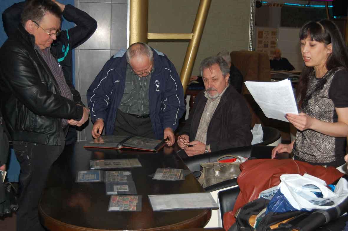 Аукцион на слете филатистов в Харькове 24 апреля 2016г.