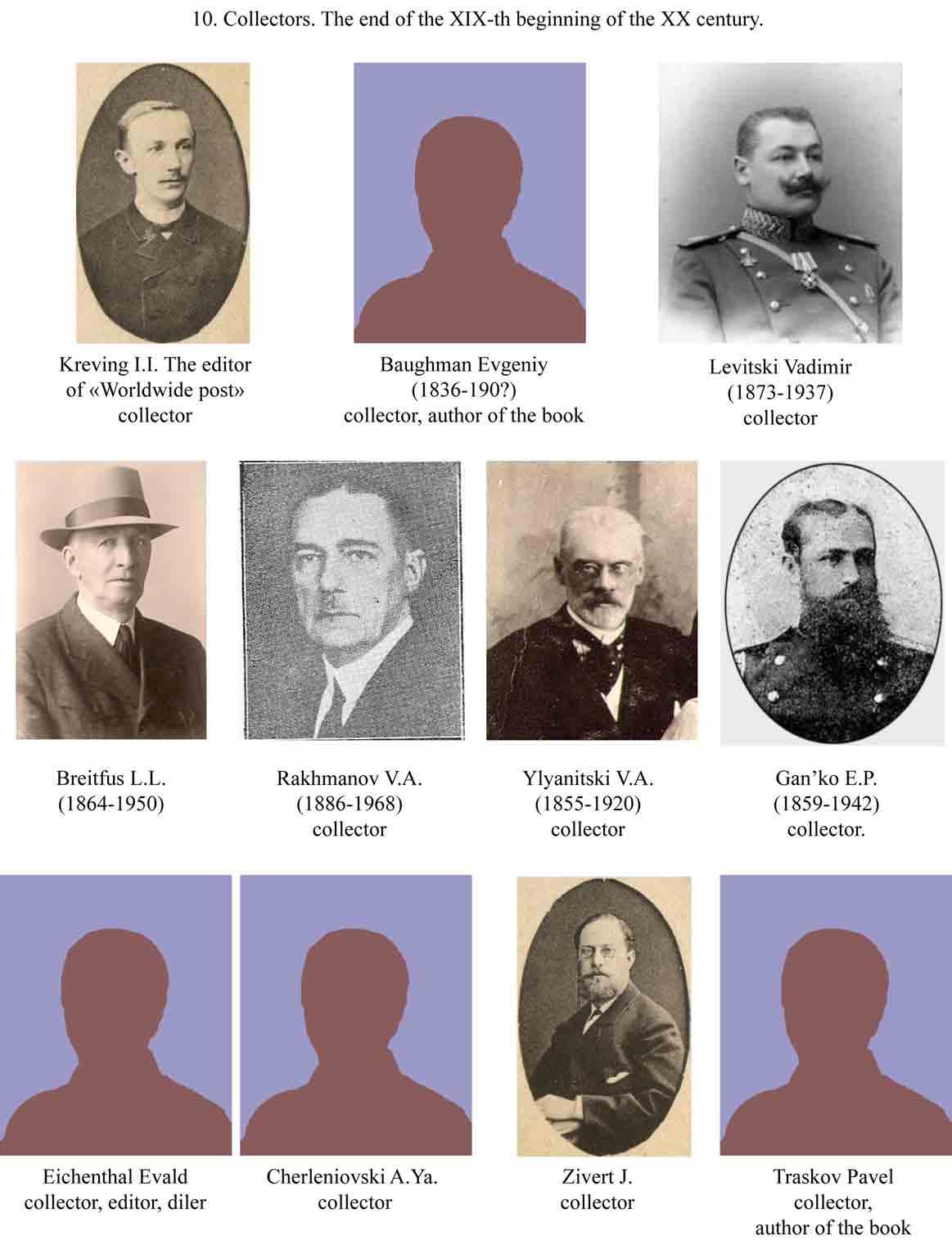 Знаменитые коллекционеры земских марок