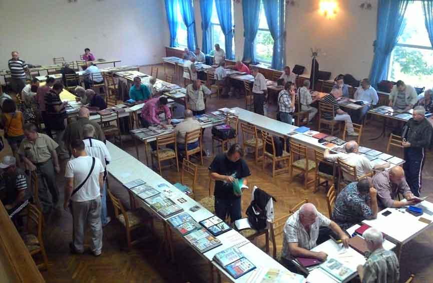 Слет филателистов в Днепропетровске 2016